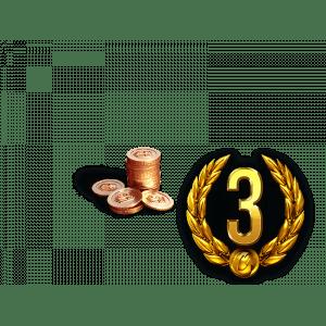 3 Дня премиум аккаунта + 850 золота в подарок