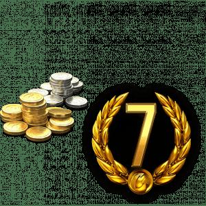 7 Дней премиум аккаунта + 4200 Золота